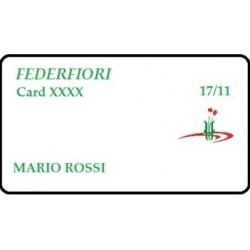 FEDERFIORI CARD